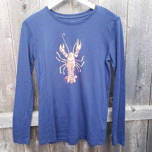 Vineyard vines girls large 14 lobster long sleeve